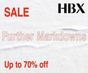 HBX ofrece todo, desde ropa, accesorios y productos tecnológicos que necesita