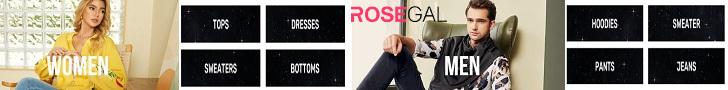 Rosegal, moda que nunca pasa de moda